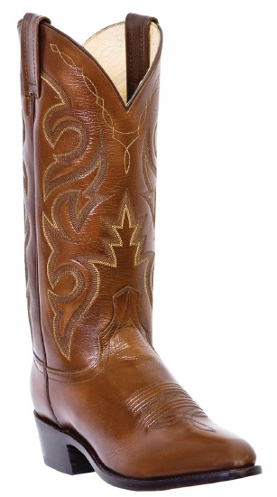 f3e3ad0d309 Dan Post DP2111R for $149.99 Men's Milwaukee Collection Western Boot with  Antique Tan Mignon Leather Foot and a Medium Round Toe