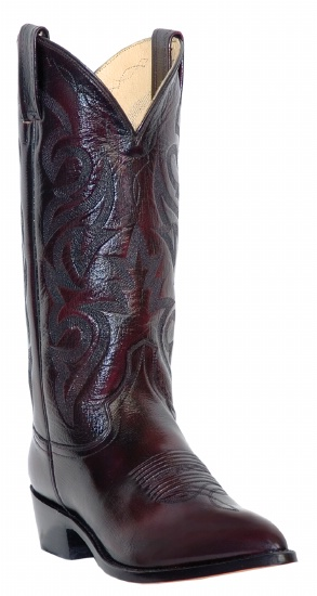 c768cd09493 Dan Post DP2112R for $149.99 Men's Milwaukee Collection Western Boot with  Black Cherry Mignon Leather Foot and a Medium Round Toe