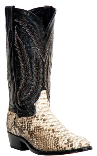 b8e14c0286a Dan Post DPP3036 for $299.99 Men's Omaha Collection Western Boot with  Natural Python Leather Foot and a Medium Round Toe