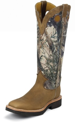 Justin 2115 Men S Snake Proof Western Boot With Rugged Tan
