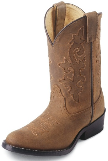 Justin 2253Y Youth Cowboy Boot with Bay