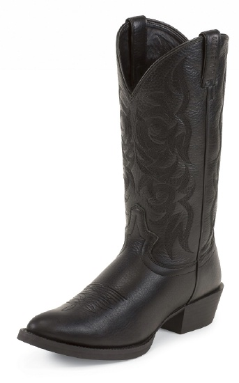 Justin 2553 Men S Stampede Western Western Boot With Black
