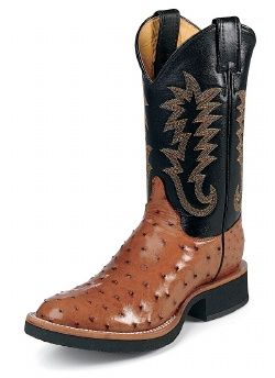 Justin 5014 Men S Tekno Crepe Western Boot With Cognac