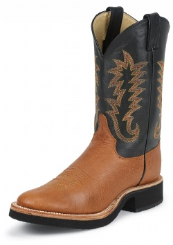 Justin 5016 Men S Tekno Crepe Western Boot With Cognac