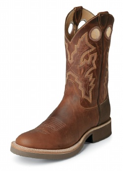 Justin 5035 Men S Tekno Crepe Western Boot With Sunset