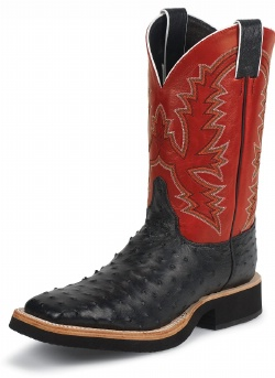 Justin 5142 Men S Tekno Crepe Western Boot With Black
