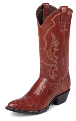 Justin 8303 Men S Exotic Western Boot With Peanut Brittle