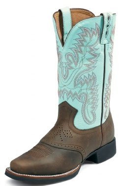 Justin L4853 Ladies Aqha Lifestyle Foundation Western Boot