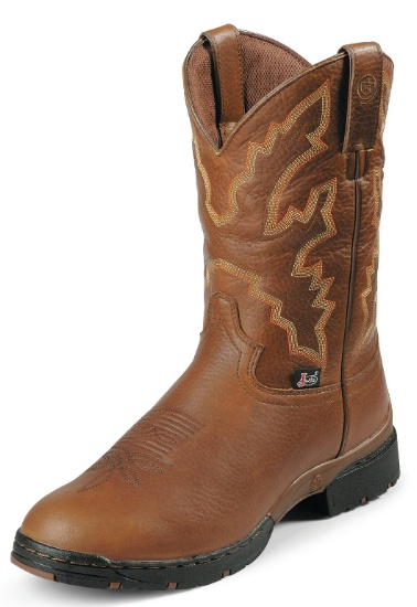 5a162050e Justin L9018 Ladies George Strait :03:1 Western Boot with Sunset ...