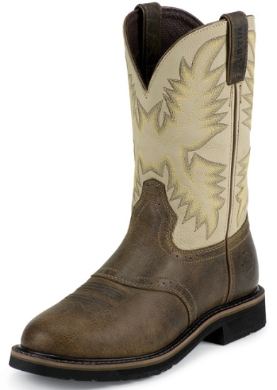 Justin Wk4660 Men S Stampede Collection Work Boot With