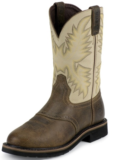 Justin Wk4661 Men S Stampede Collection Work Boot With