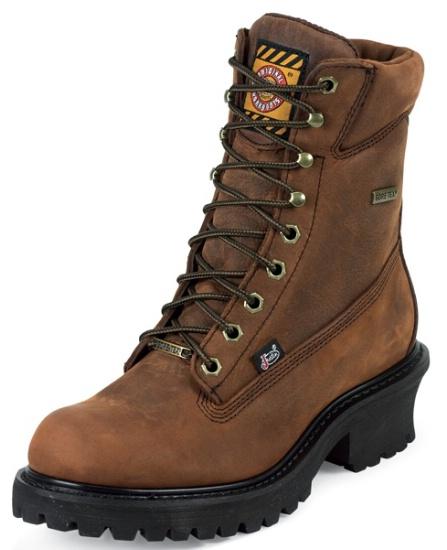Mahogany Harness Leather Foot