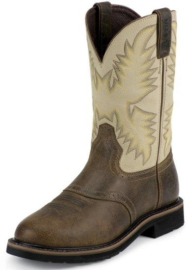 Justin Wkl4661 Ladies Stampede Collection Work Boot With