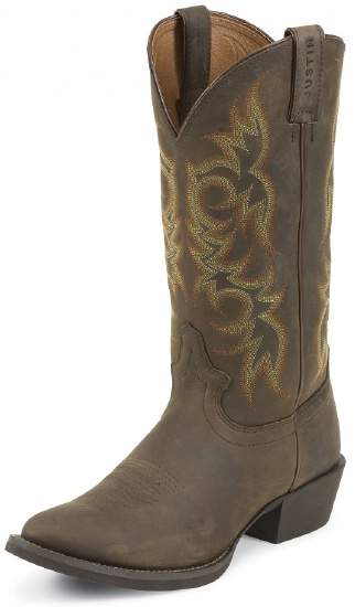 Justin 2551 Men S Stampede Western Western Boot With