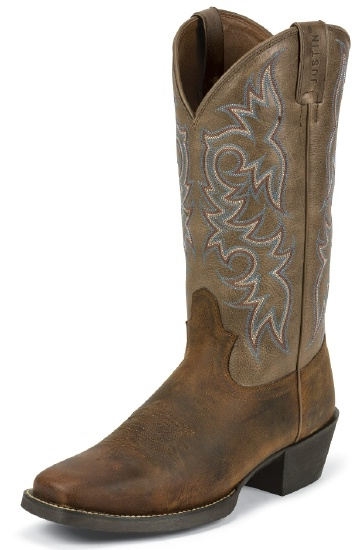 Justin 2563 Men S Stampede Western Western Boot With