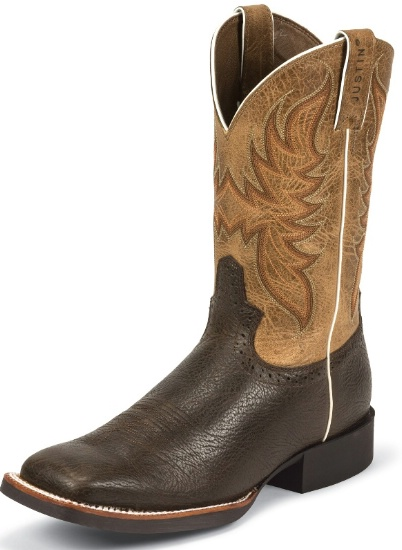 Justin 7209 Men S Stampede Western Western Boot With