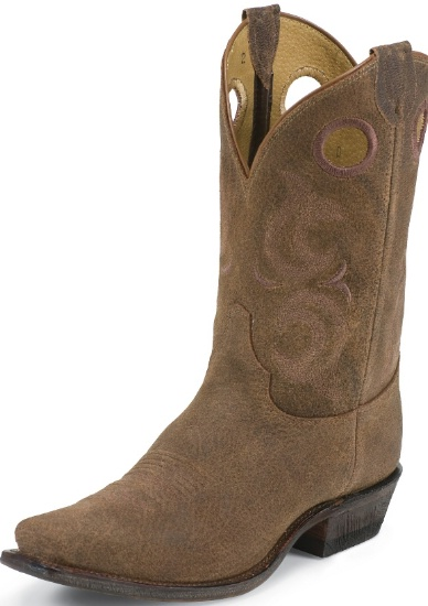 1478b83550c Justin BR611 Men's Bent Rail Western Boot with Madera Gaucho Foot and a  Medium Square Toe