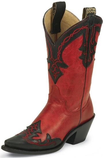 Justin L4304 Ladies Fashion Western