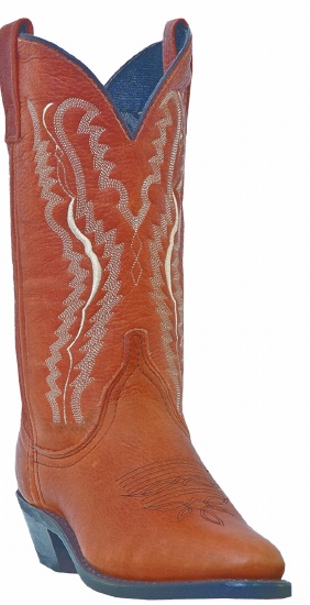 a5ed8304c85 Laredo 51080 for $119.99 Ladies Abby Collection Western Boot with Walnut  Cowhide Leather Foot and a Round Toe