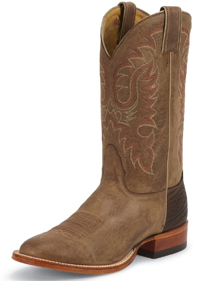 c1e8927ade4 Nocona MD2732 Men's Legacy Rancher Boot with Tan Vintage Cow Foot and a  Wide Round Toe