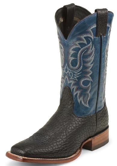 Nocona Md3012 Men S Bull Shoulder Rancher Boot With Black