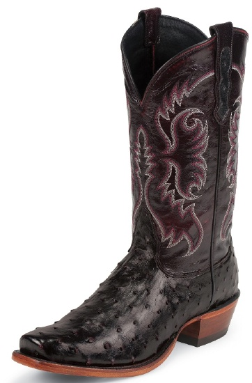Nocona Md6513 Men S Exotic Western Boot With Black Cherry