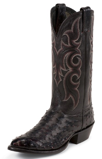 Nocona Md8506 Men S Exotic Western Boot With Black Cherry