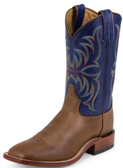 09c17d3b5dd Tony Lama 7905 Men's Americana Collection Western Boot with Tan Cheyenne  Leather Foot and a Double Stitched Wide Square Toe