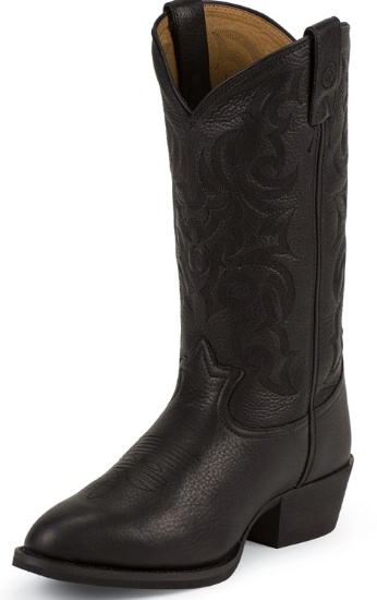 18c476a292b Tony Lama RR4002 Men's 3R Collection Western Boot with Black Deertan  Leather Foot and a Medium Round Toe