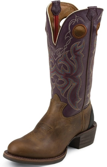 bbc2a782931 Tony Lama RR9000 Men's 3R Collection Western Boot with Tan Cody Leather  Foot and a Wide Round Toe