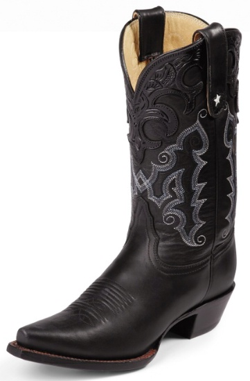 Tony Lama VF6000 Ladies Vaquero Collection Western Boot with Black  Thoroughbred Leather Foot and a Narrow Square Toe