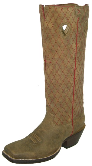 b69aa2bb993 Twisted X MBK0022 for $199.99 Men's' Buckaroo Western Boot with Bomber  Leather Foot and a Country Wide Square Toe