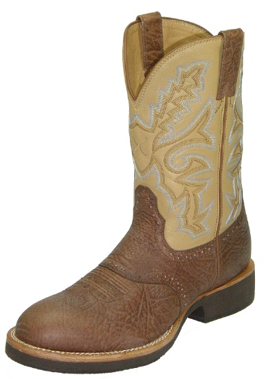 a20cee4bab2 Twisted X MHM0004 for $179.99 Men's' Horseman Western Boot with Brown Oiled  Shoulder Leather Foot and a Wide Round Toe