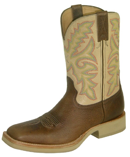 258480a58ca Twisted X MHM0008 for $179.99 Men's' Horseman Western Boot with Beige  Glazed Pebble Leather Foot and a Wide Square Toe